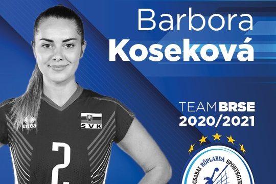 Barbora Kosekova is visszatér Békéscsabára