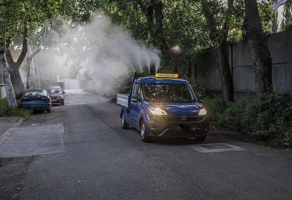 Több mint százezer hektáron irtják a héten a szúnyogokat