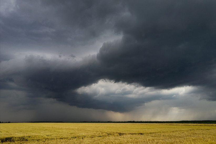 nyár, zápor, zivatar, eső, időjárás, felhő