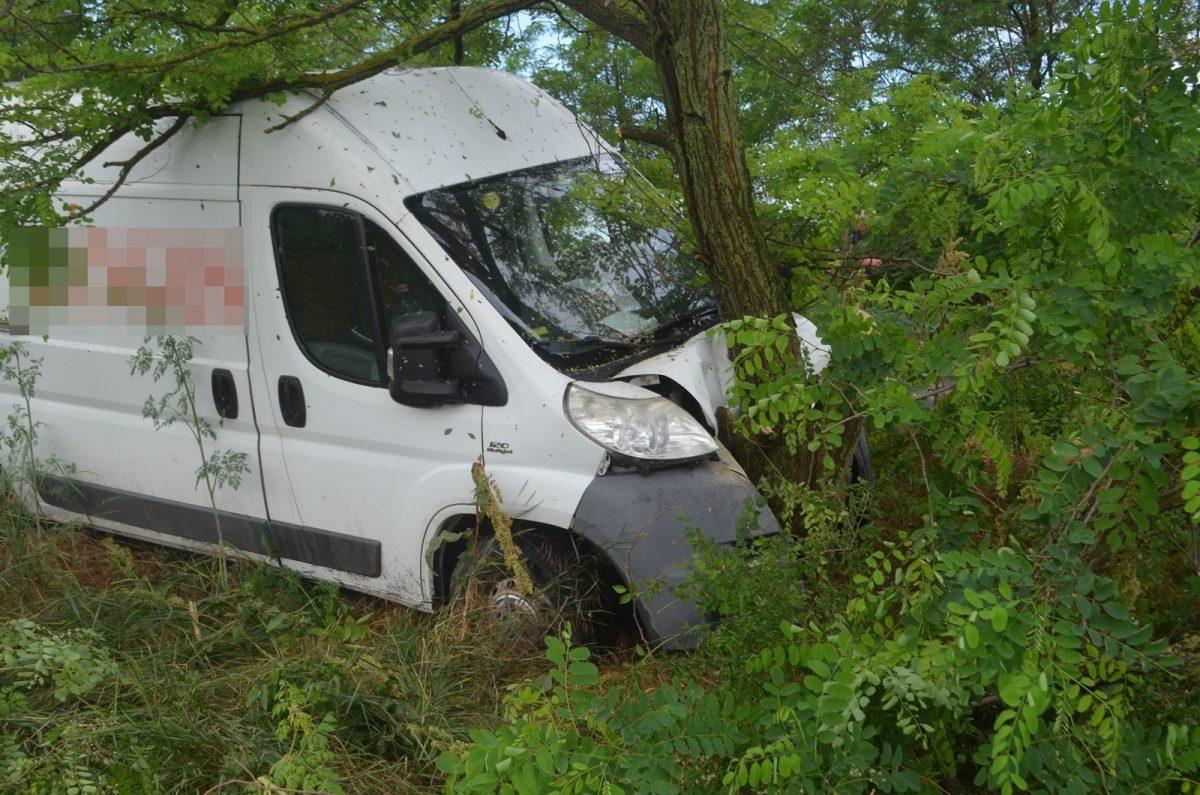 Telekgerendáson történt közlekedési baleset