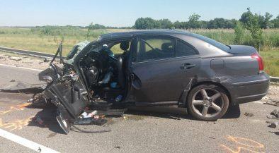 Frontális balesetben meghalt egy férfi Seregélyesnél