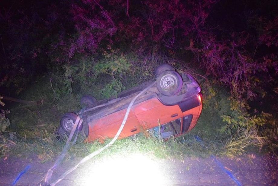 Italozás után ült autóba, majd balesetet szenvedett egy férfi Szeghalom közelében