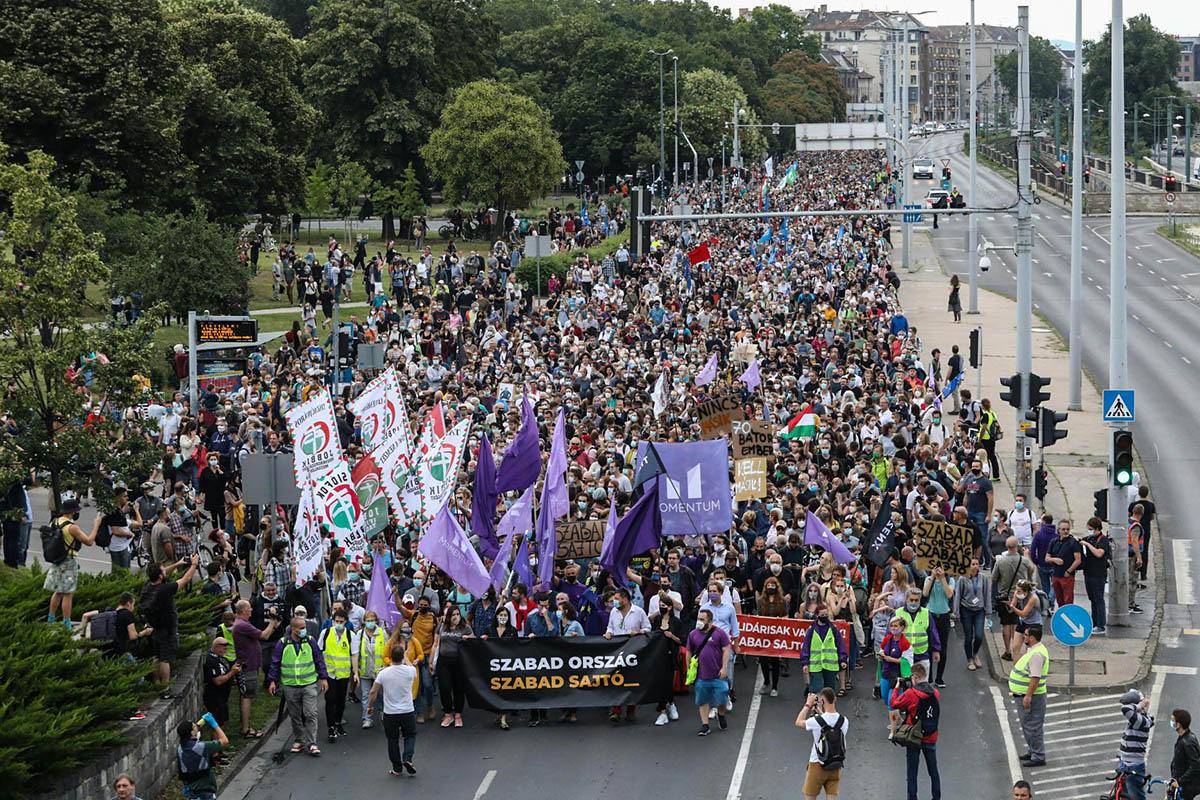 tüntetés, Index