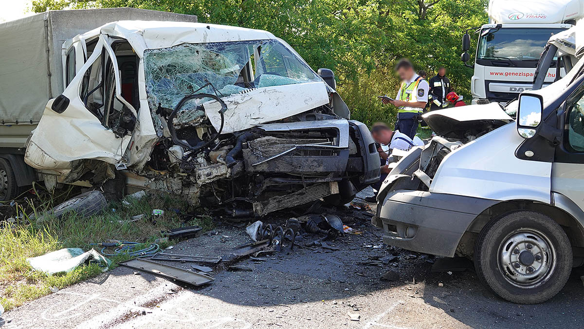 Halálos baleset történt Törökszentmiklós és Mezőtúr között