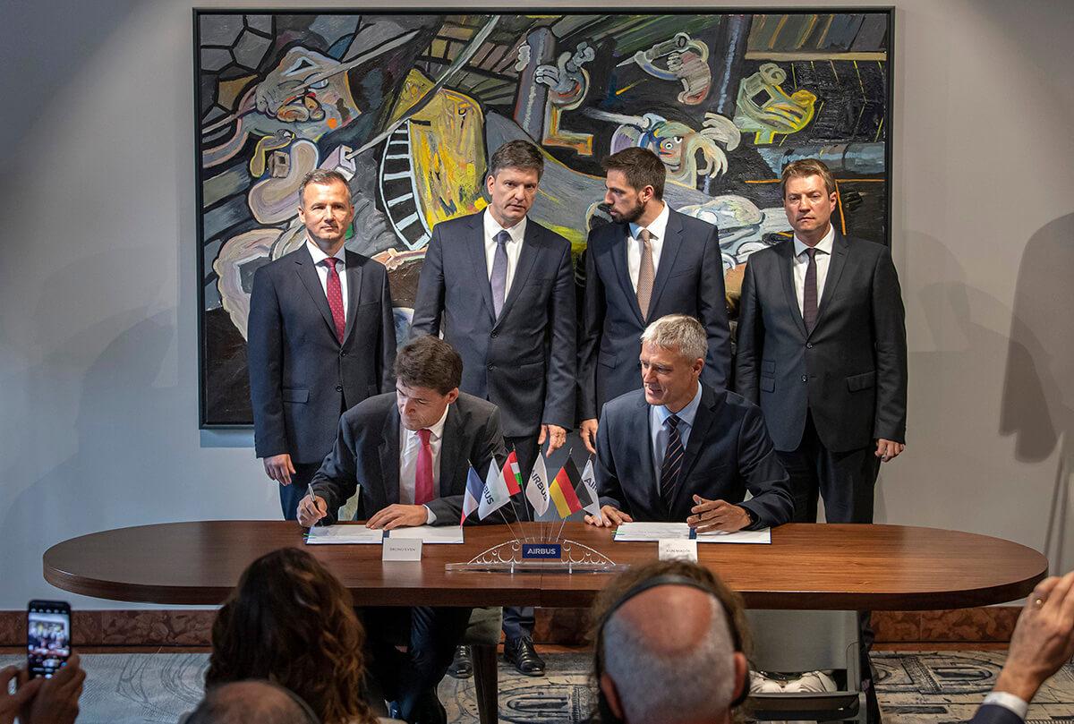 Repülőgépalkatrész-gyártó vegyesvállalatot hozott létre az Airbus és Magyarország