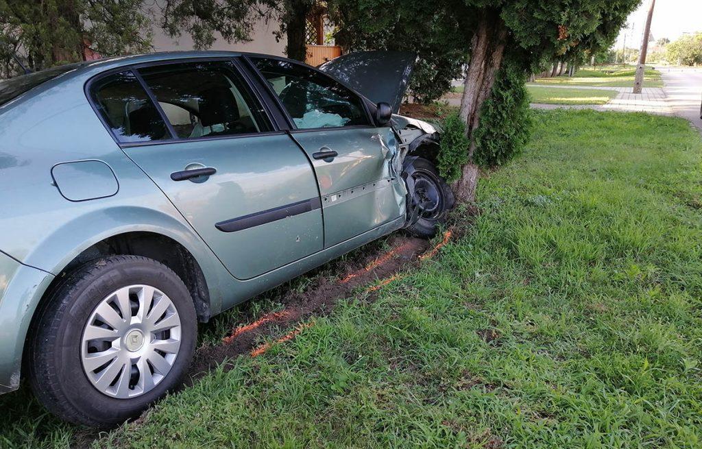 baleset Mezőberényben