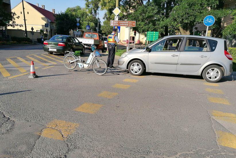 személyi, elektromos biciklist ütöttek el Békésen