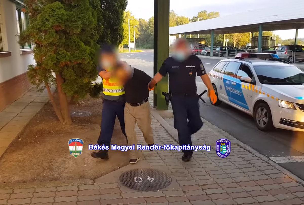 Embercsempészéssel gyanúsítható férfit fogtak el Battonyán