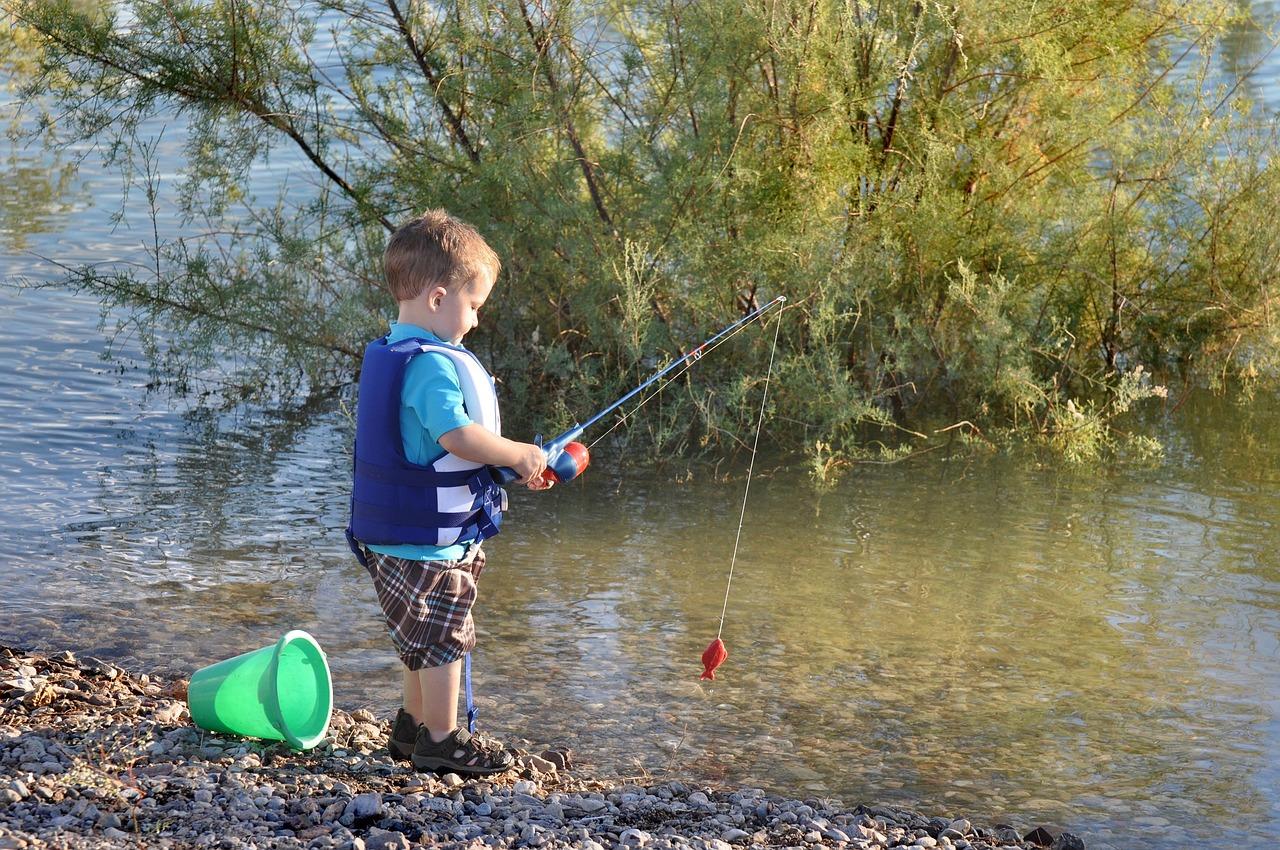 A gyermekek horgászatára is vonatkoznak szabályok