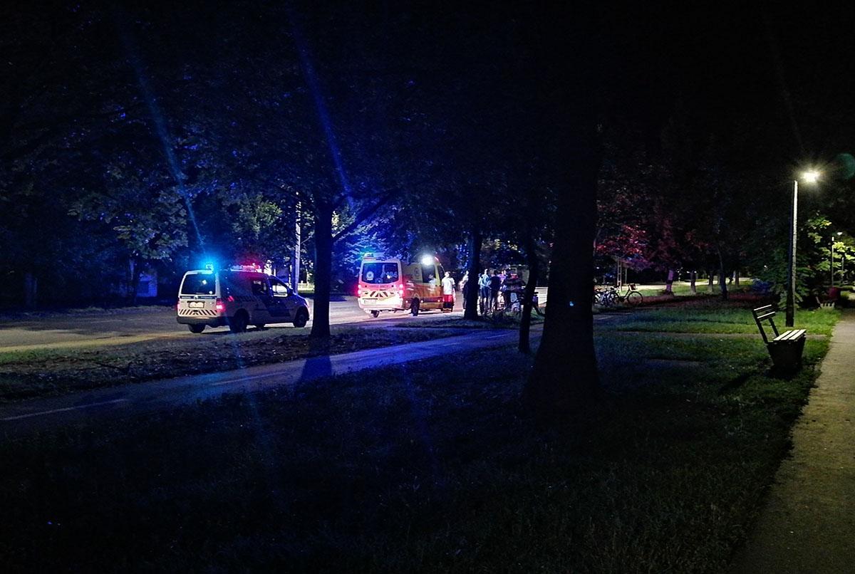 Két kerékpáros ütközött Békéscsabán szerda este
