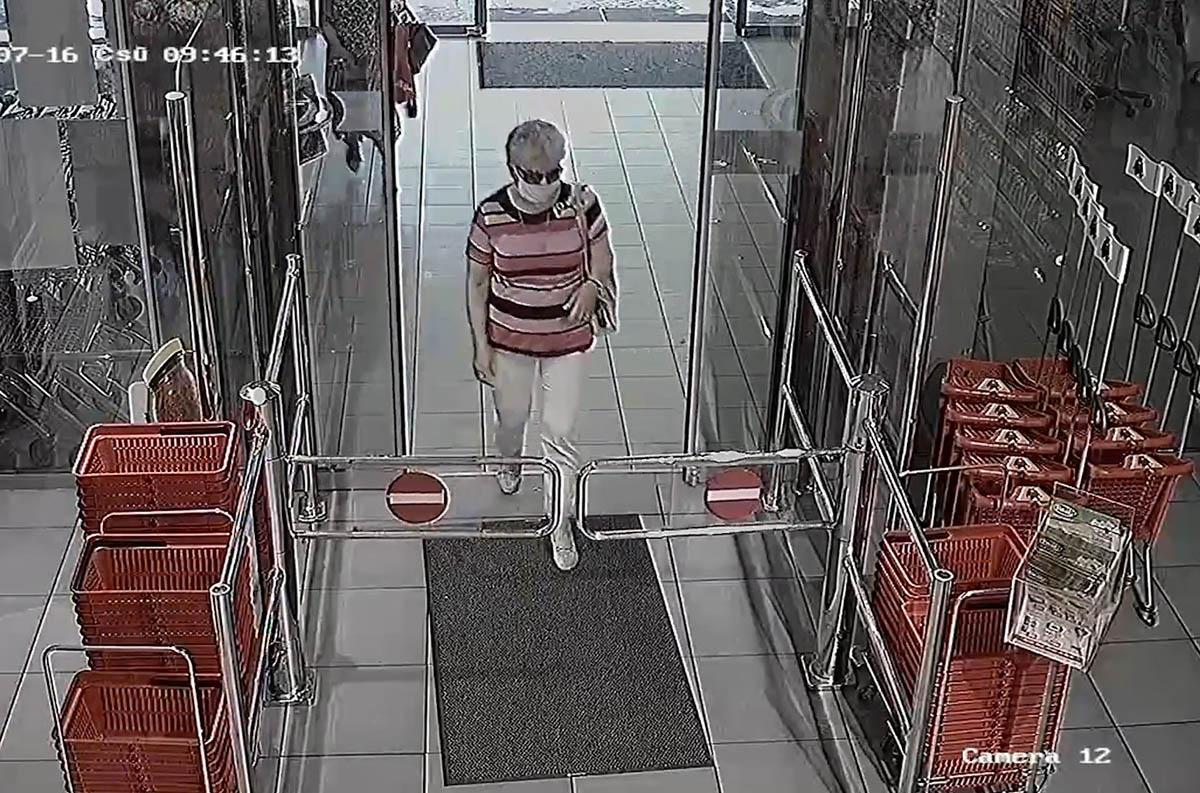 Lopás gyanúsítottját keresi a Békéscsabai Rendőrkapitányság