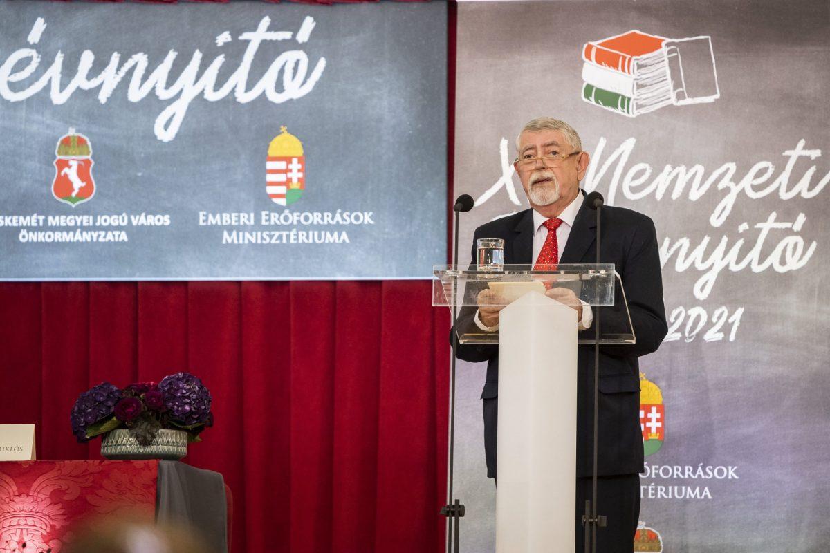 Kásler Miklós: az új tanév az új építések és a jelentős felújítások éve lesz