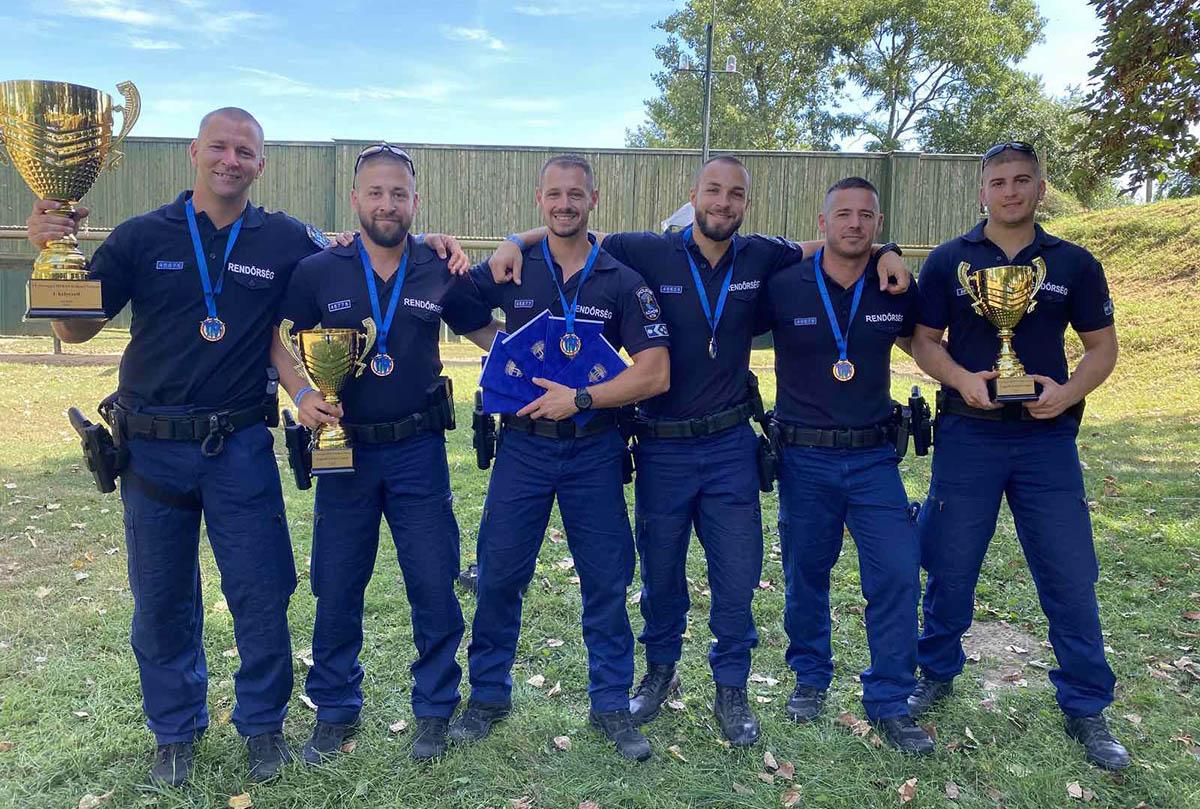 Negyedszer is első helyen végzett a Békés Megyei Rendőr-főkapitányság csapata