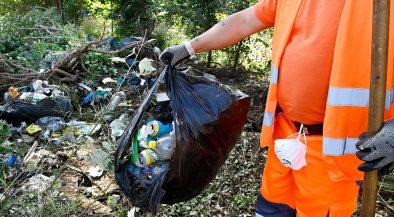 bejelentés, illegális hulladéklerakó, szemét