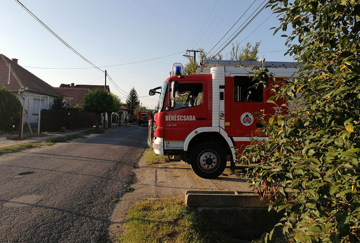 Több segélykérés is érkezett a hétvégén a megyei katasztrófavédelemhez