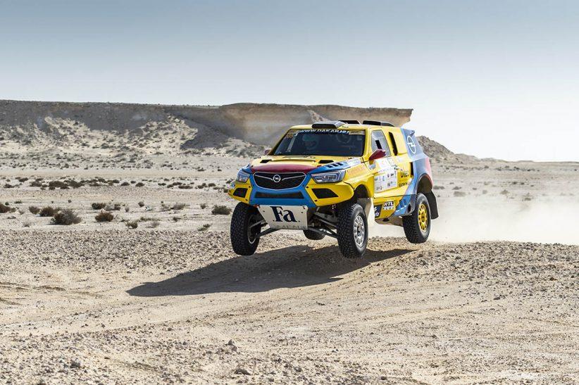 Opel Dakar Team, race