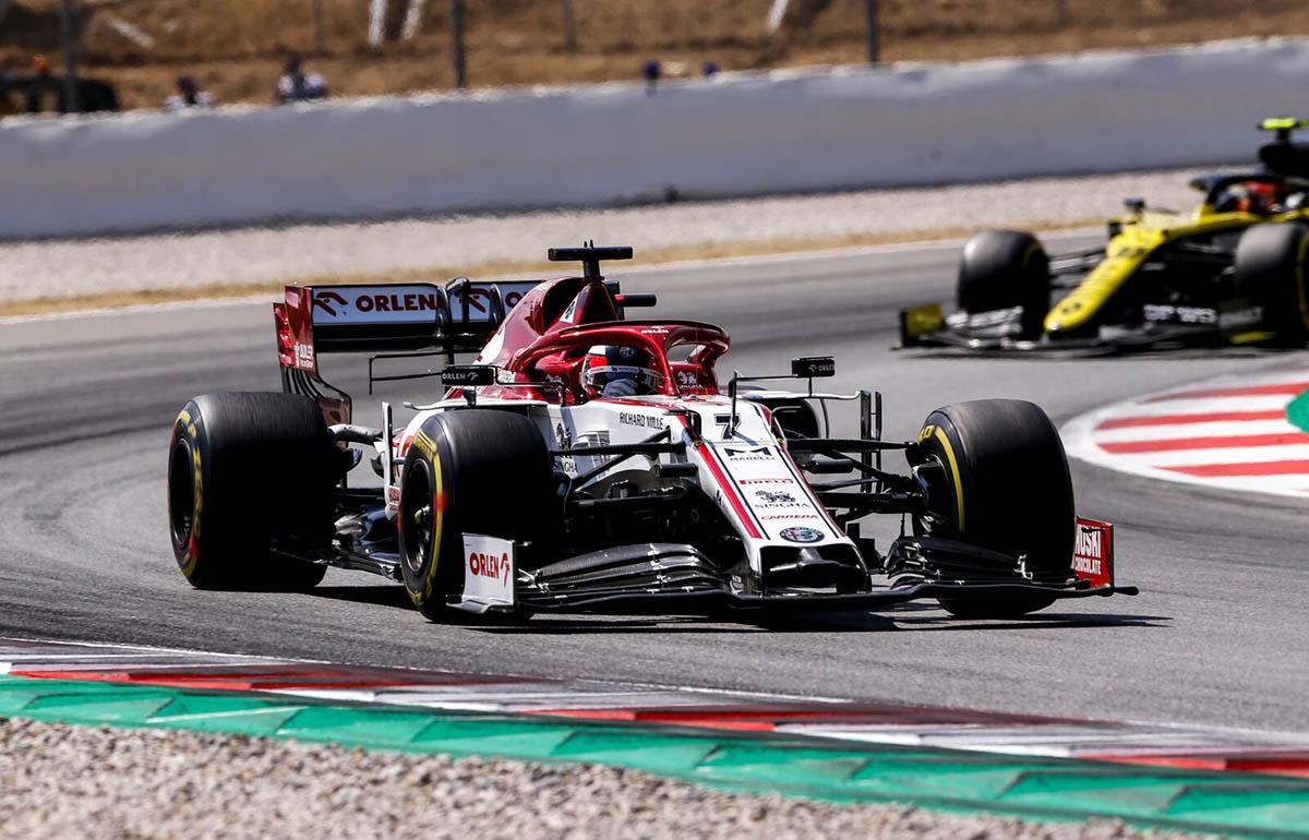 Hamilton mellett Räikkönen is rekordot döntött Barcelonában