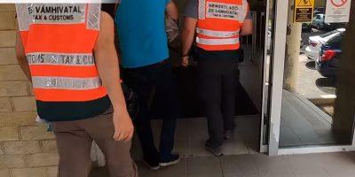 nav, letartóztatás Debrecenben