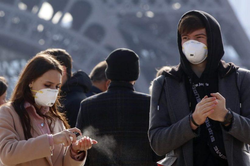 párizsban, fertőzöttek, franciaországban