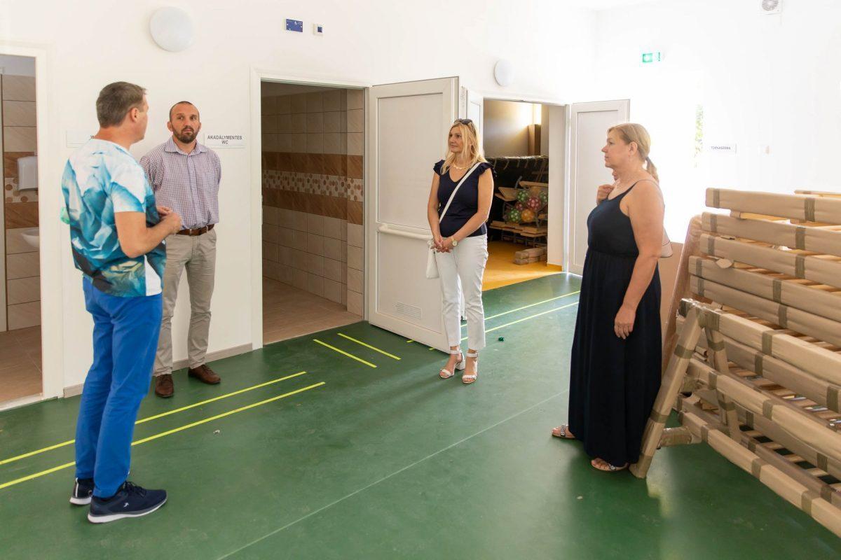 Egy új tornaszobát alakítanak ki a békési Korona úti Tagóvodában