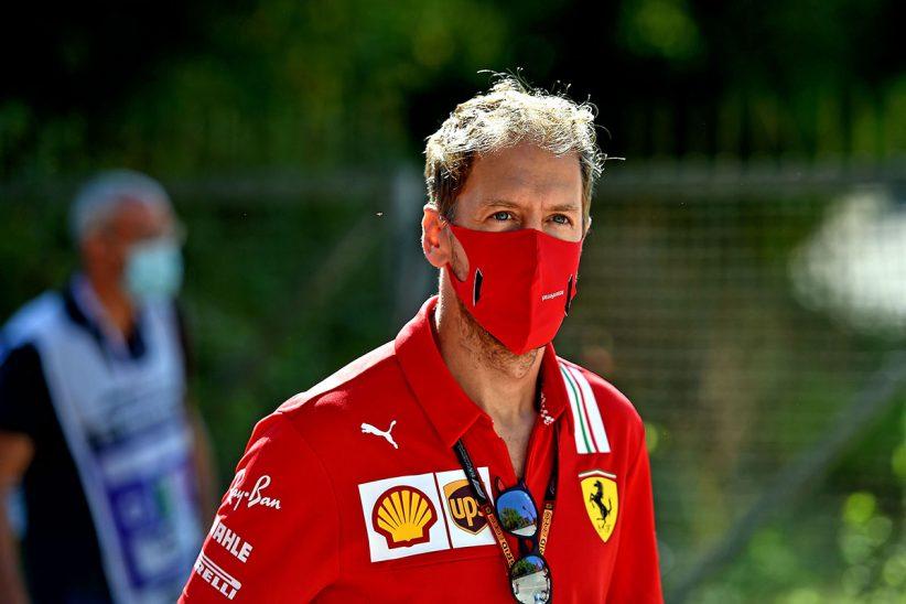 Vettel Aston Martin, Ferrari