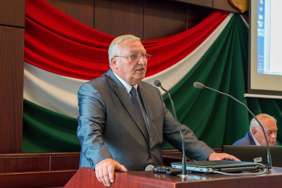 Dr. Orosz Tivadar marad a Békés Megyei Kereskedelmi és Iparkamara elnöke