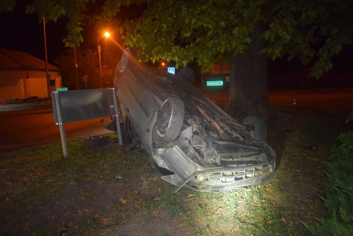 Összesen hat balesetnél helyszíneltek a megye rendőrei