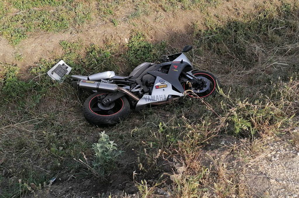 motoros baleset Békéscsabán