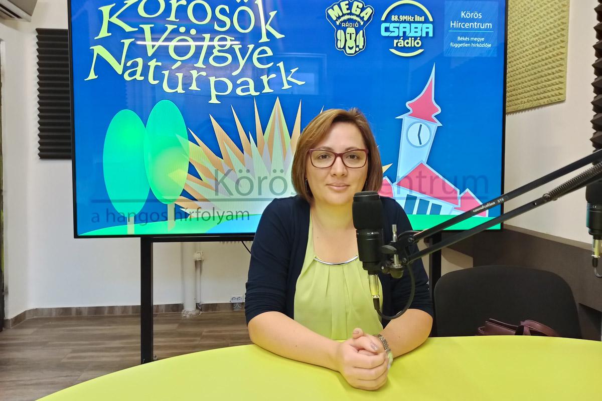 Pócsi Gabriella: A Körösök vidéke védelme, népszerűsítése a cél