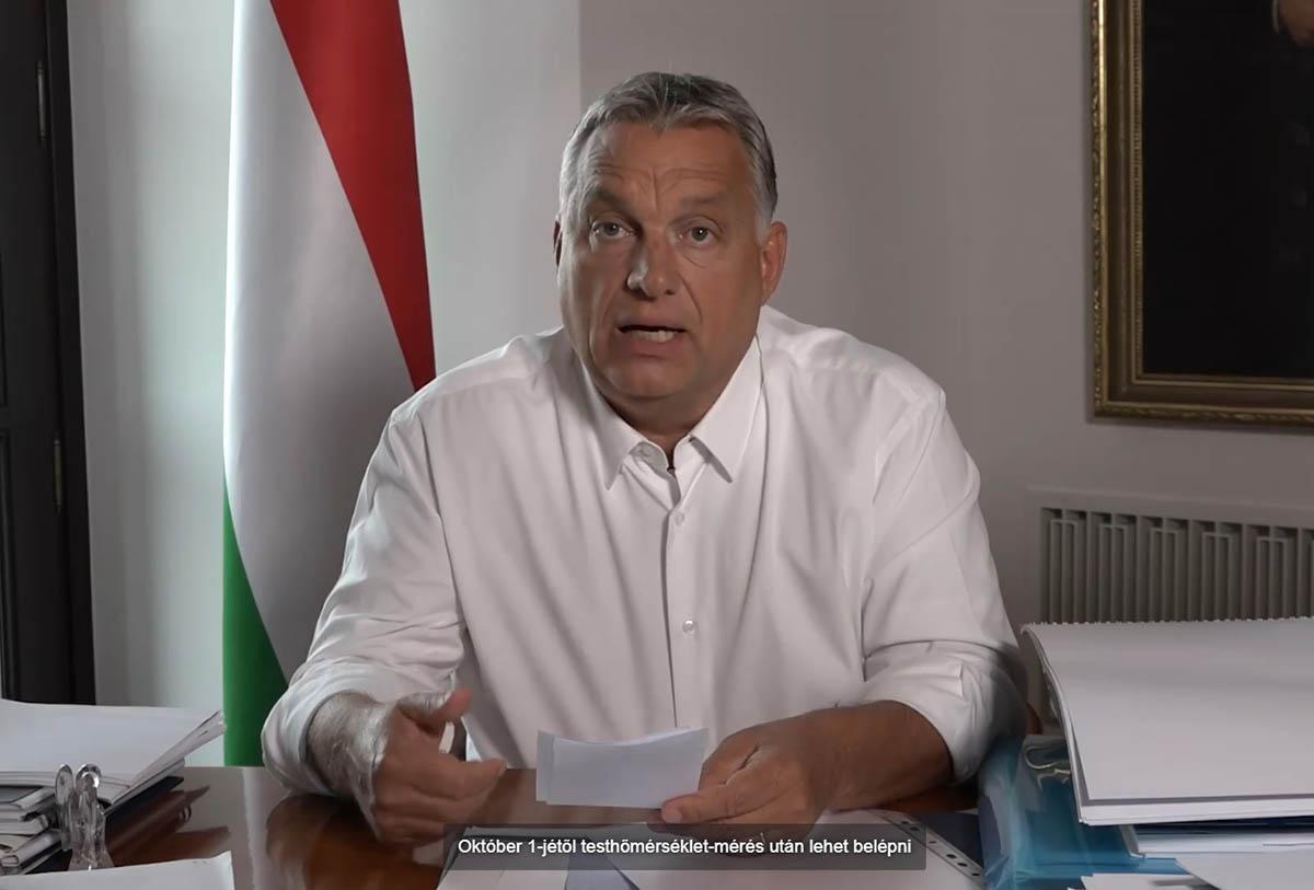 Orbán: 19 500 forint lesz a teszt maximális ára, 23 órakor be kell zárni a szórakozóhelyeket
