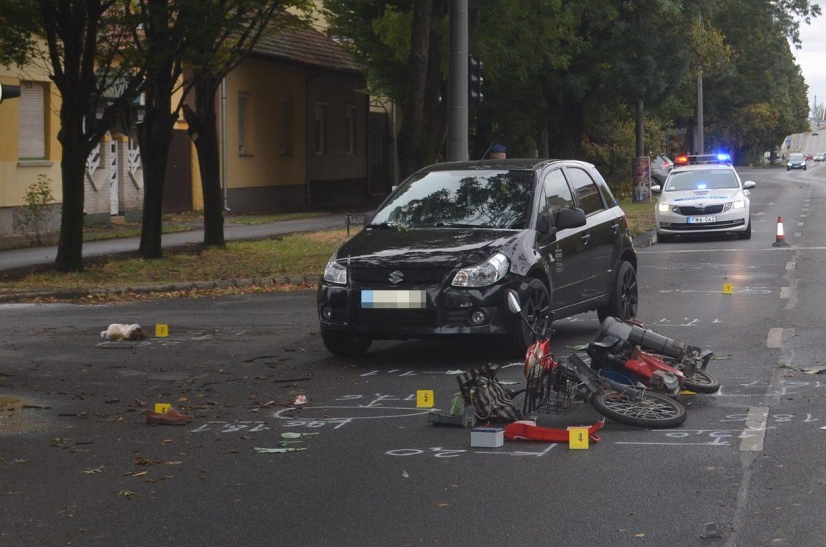 Két baleset Békéscsabán, Békésen ittas vezetés, Tótkomlóson kábítószer-birtoklás miatt intézkedtek
