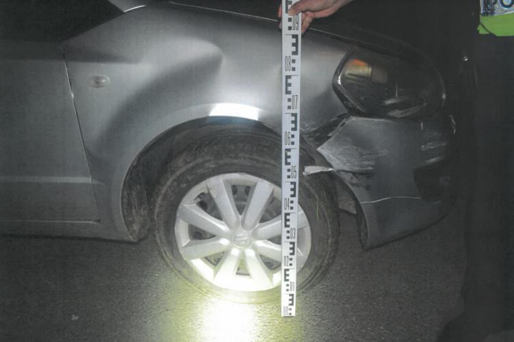 Ittasan szenvedett balesetet egy nő Szaghalmon