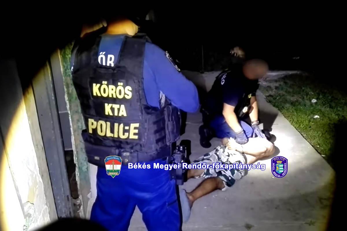 Nyolc helyről lopott egy férfi Battonyán, társával együtt elfogták
