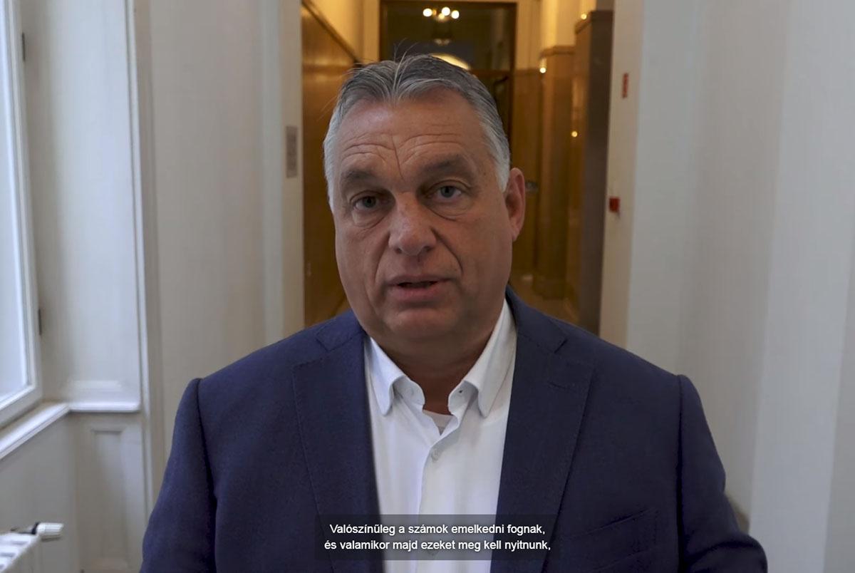 Orbán: minden egészségügyi feltétel adott a védekezéshez Magyarországon