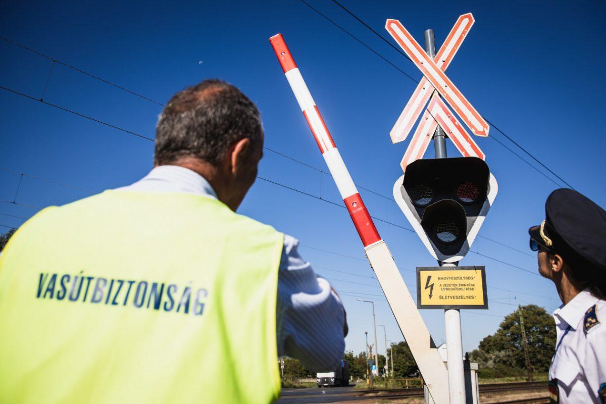 Fokozott rendőri ellenőrzés a vasúti biztonság érdekében