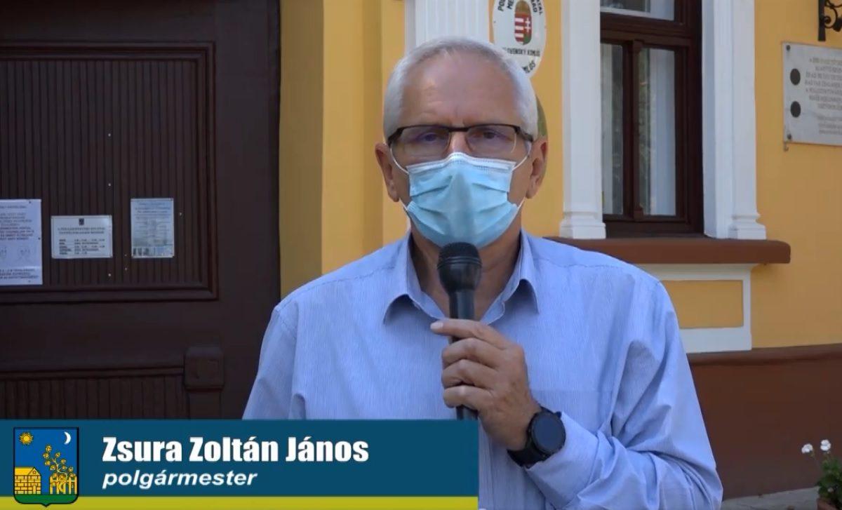Zsura Zoltán: Hétfőtől két iskolát is bezárnak Tótkomlóson