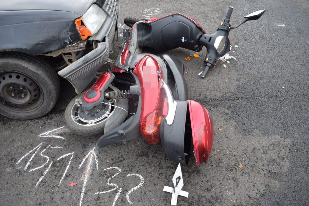 Közlekedési baleset történt Mezőhegyesen és Békéscsabán