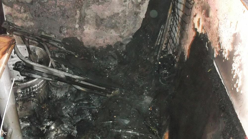 tűz Gyulán