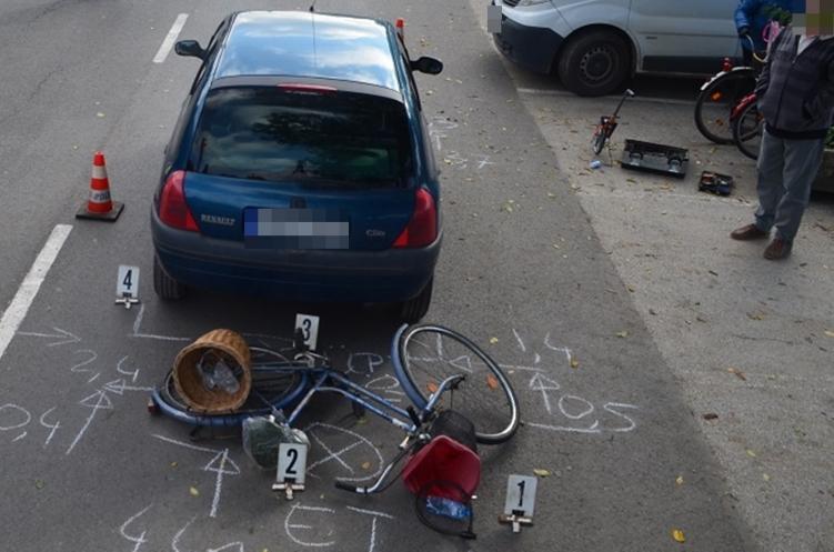 Szarvason gyalogost sodort el egy személygépkocsi