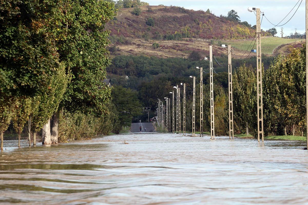 Levonulóban van az árhullám a borsodi folyókon