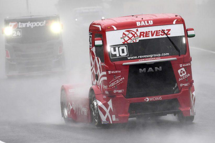 Kiss Norbert, Hungaroring, Truck eb