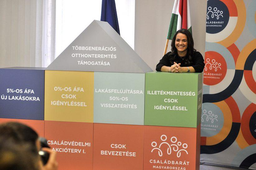Novák Katalin, csok, januártól csok változás