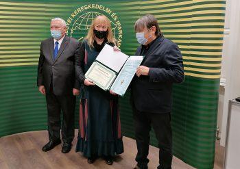 iparkamara díjátadó, kiállítás, Békéscsaba