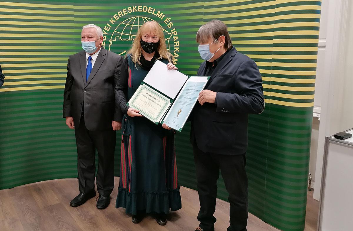 Békés megyei kézműveseket díjazott az Iparkamara