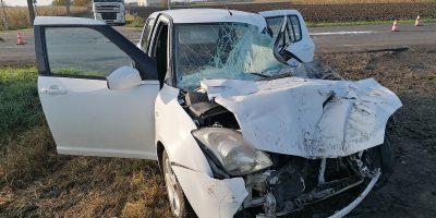 baleset Mezőberénynél, közlekedési baleset