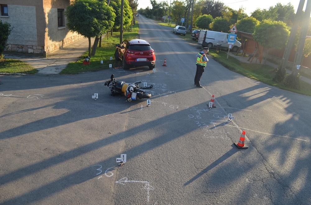 Kondoros baleset, police hu, kék hírek