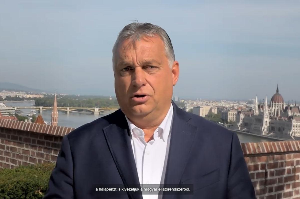 Orbán: Béremelést kapnak az orvosok, a hálapénzt kivezetik