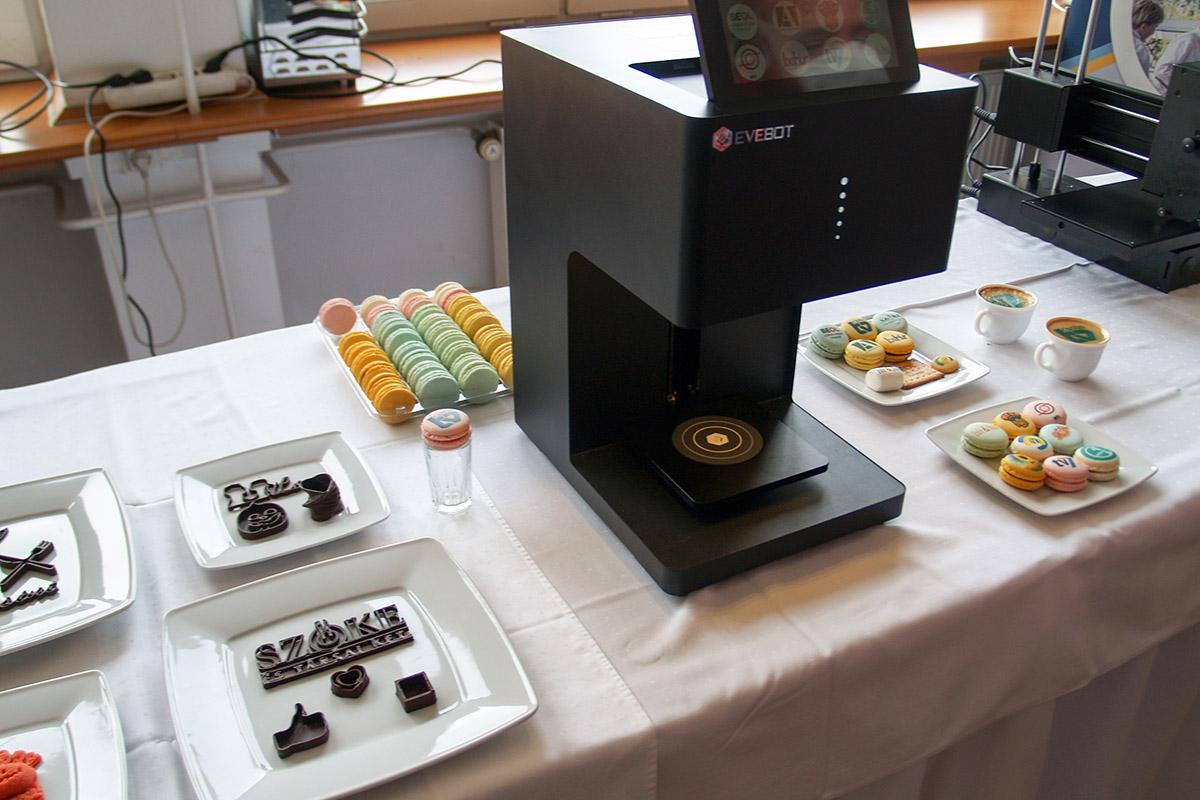 Mostantól ételeket is nyomtathatnak a Zwack iskola diákjai