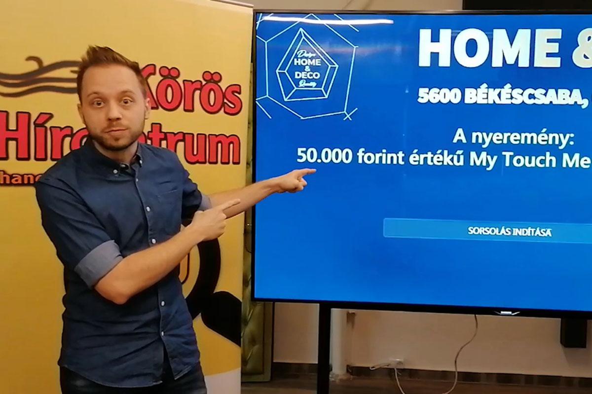 """Kisorsoltuk a Körös Hírcentrum és a Home&Deco """"Vörös Szőnyeg"""" játékának nyertesét!"""