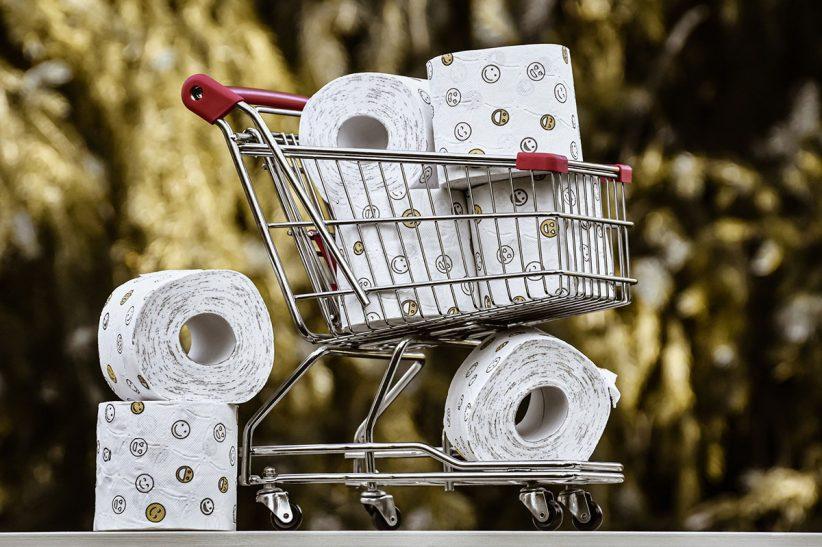 wc papír, higiéniai termék, pánikvásárlás